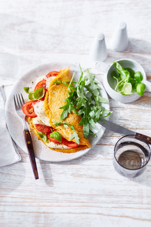 Photo of Tomato & mozzarella omelette by WW