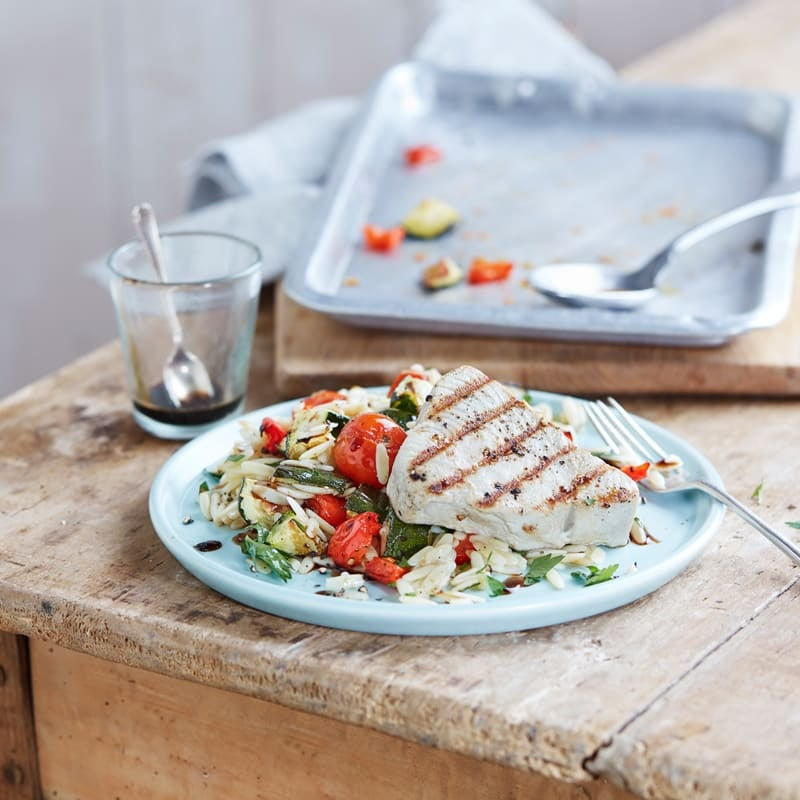 Photo of Mediterranean tuna pasta salad by WW