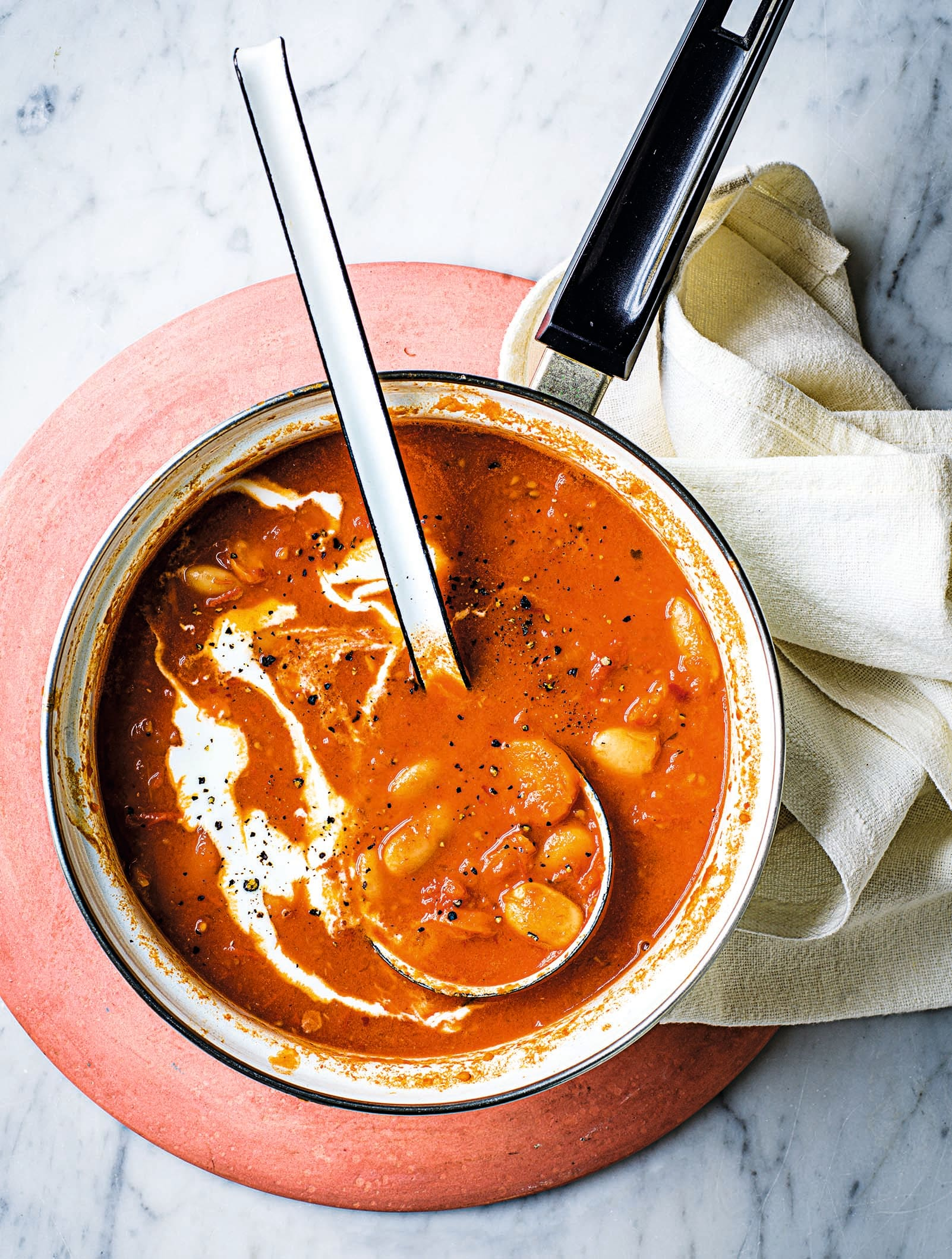 Photo of Harissa, butter bean & roasted tomato soup by WW