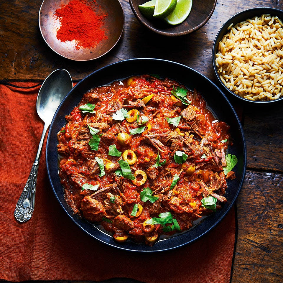 Photo of Ropa veija with brown rice by WW
