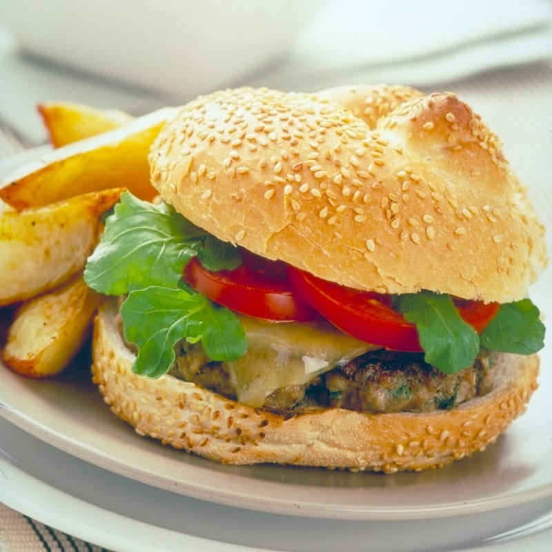 Photo of Cheeseburger & chips by WW