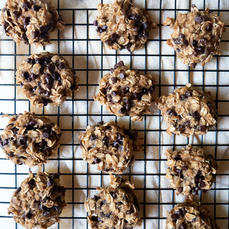 Photo of Peanut butter, banana & chocolate chip breakfast cookies by WW