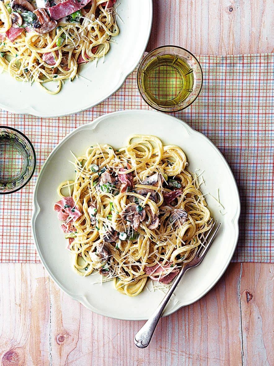 Photo of Speedy spaghetti carbonara by WW