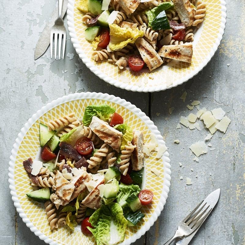 Photo of Chicken Caesar pasta salad by WW