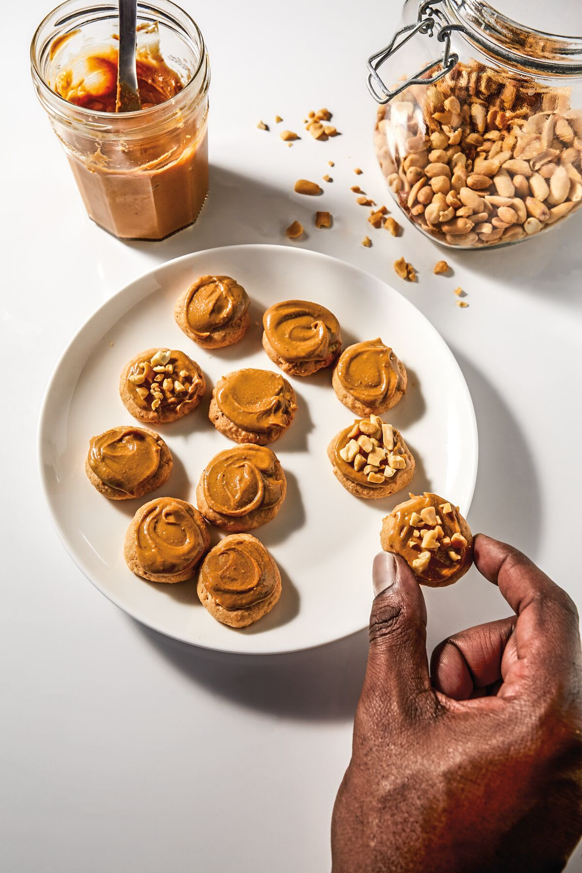 Photo of Senegalese peanut butter cookies by WW