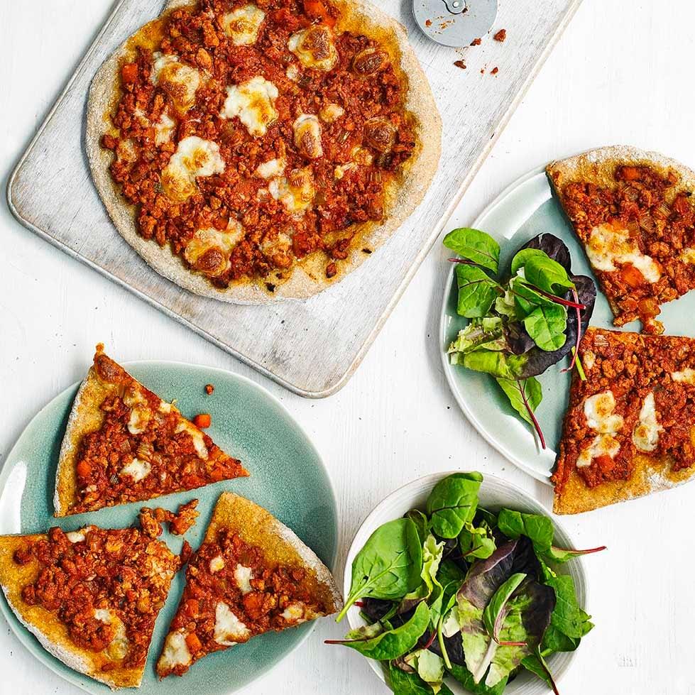 Photo of Sloppy Joe pizzas by WW