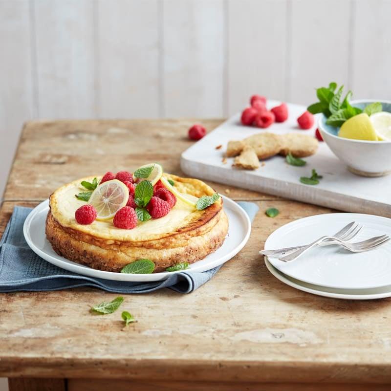 Photo of Zesty lemon cheesecake by WW
