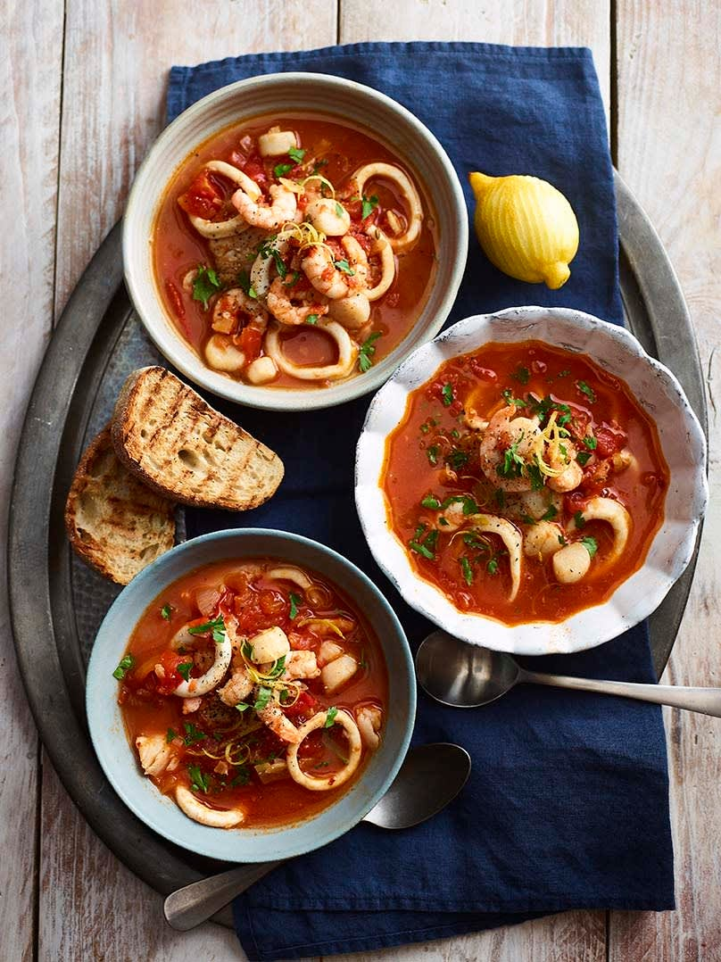 Photo of Mediterranean seafood stew by WW