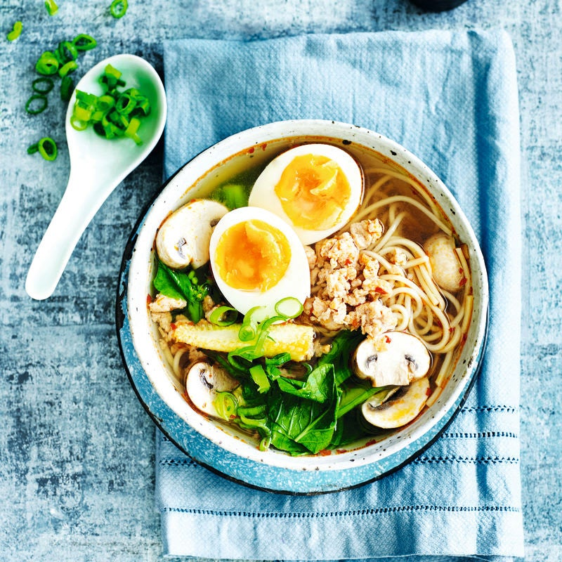 Photo of Gluten-free turkey & vegetable ramen by WW