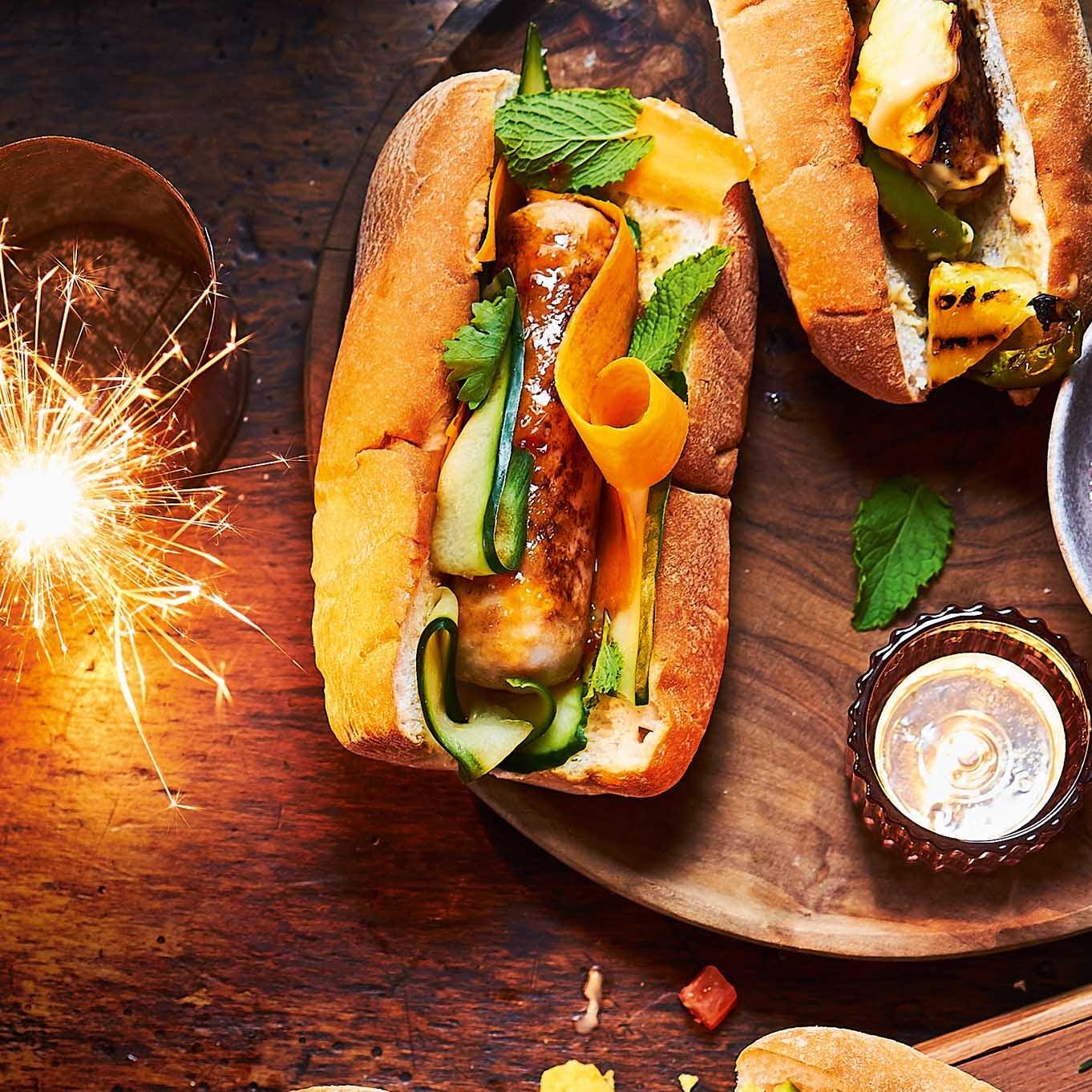 Photo of Vietnamese bánh mì hot dogs by WW