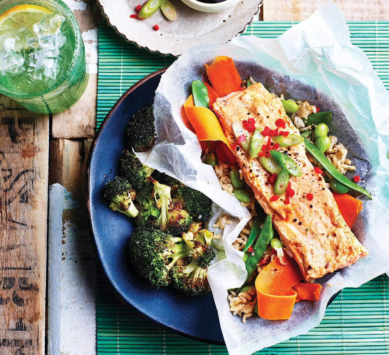 Photo of Baked red curry salmon parcels by WW
