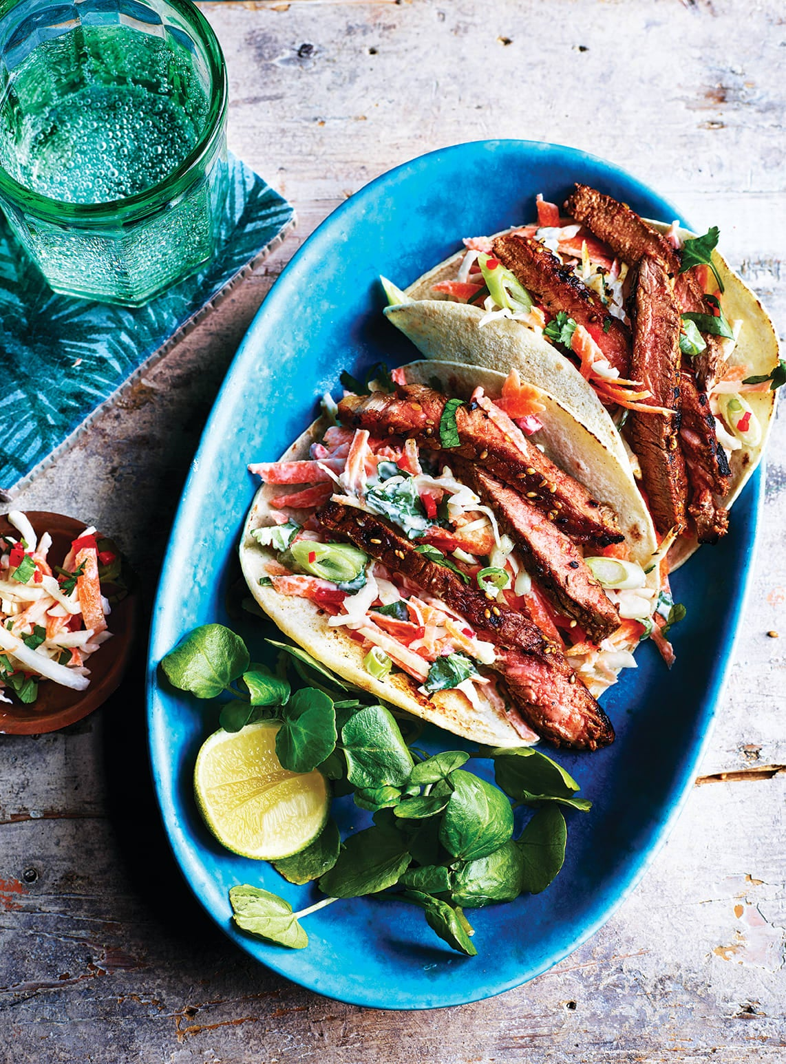 Photo of Asian-style beef tacos by WW