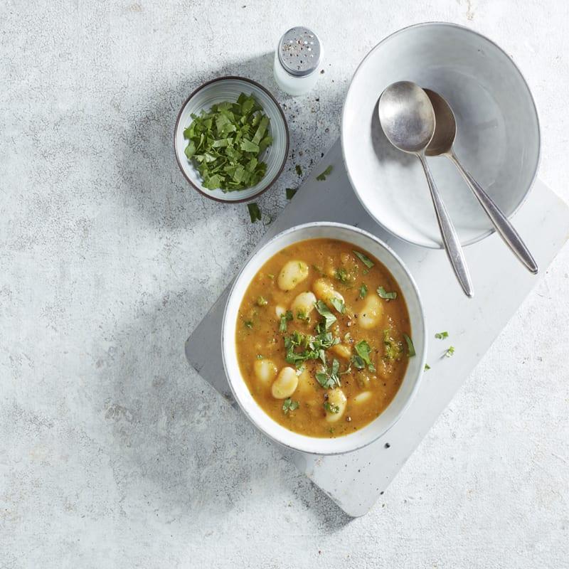 Photo of Carrot, coriander & butterbean soup by WW