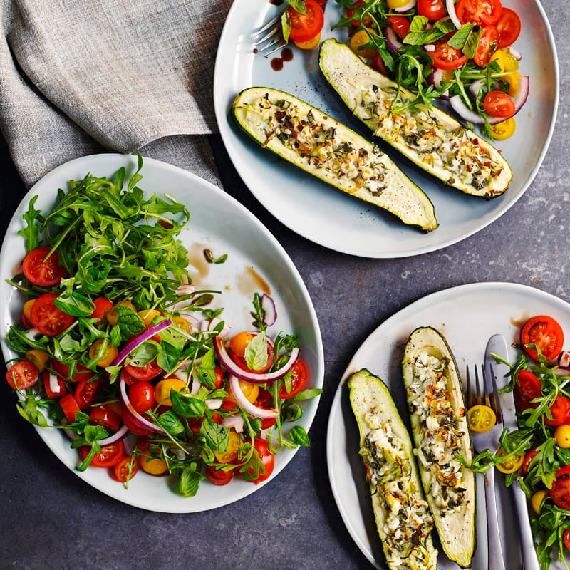 Photo of Stuffed courgettes by WW