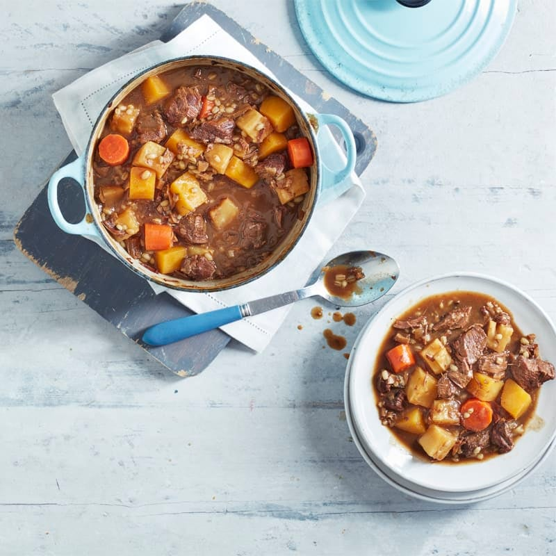 Photo of Beef, root vegetable & barley casserole by WW