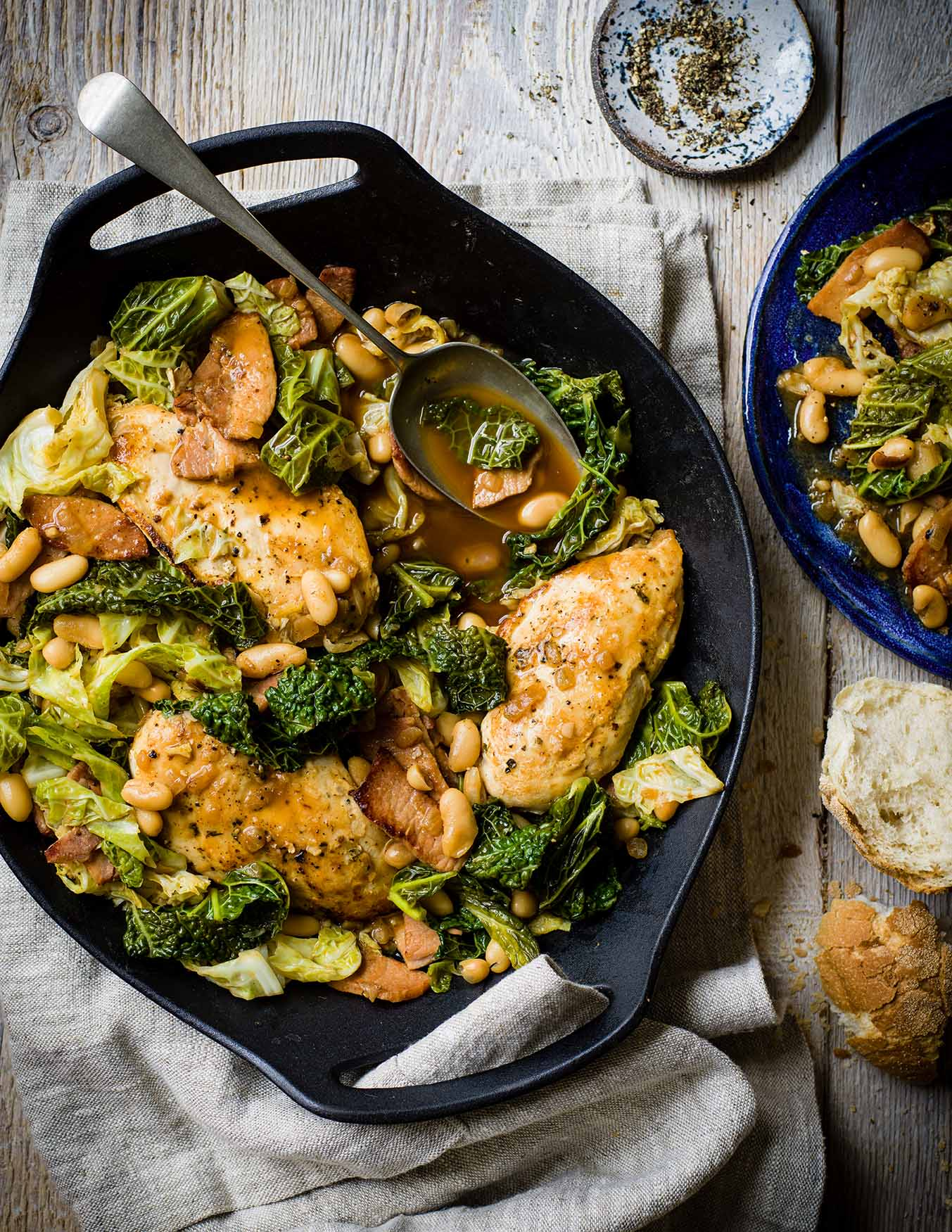 Photo of Bacon & cabbage braise with chicken by WW