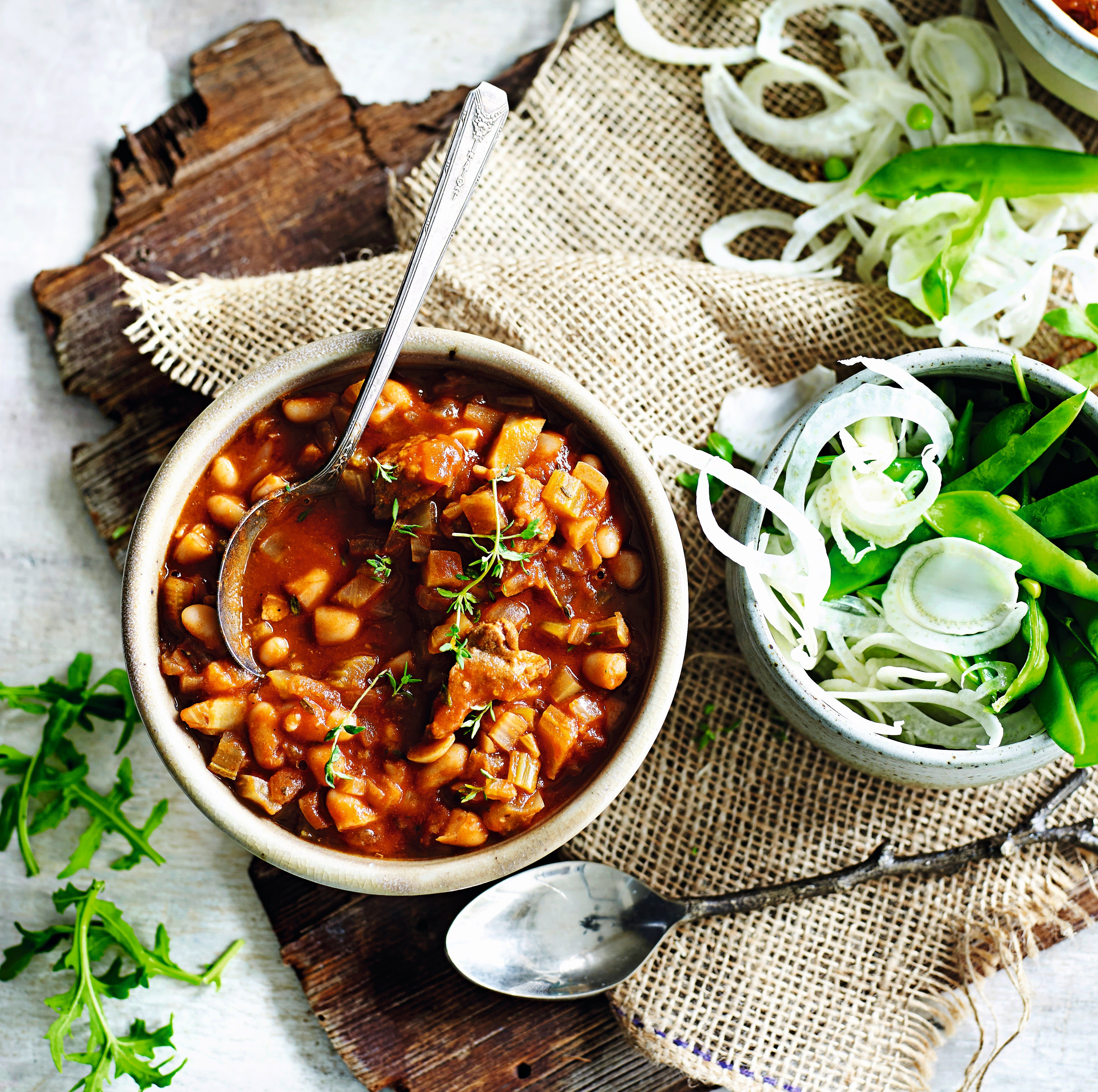 Photo of Slow cooked pork & beans by WW