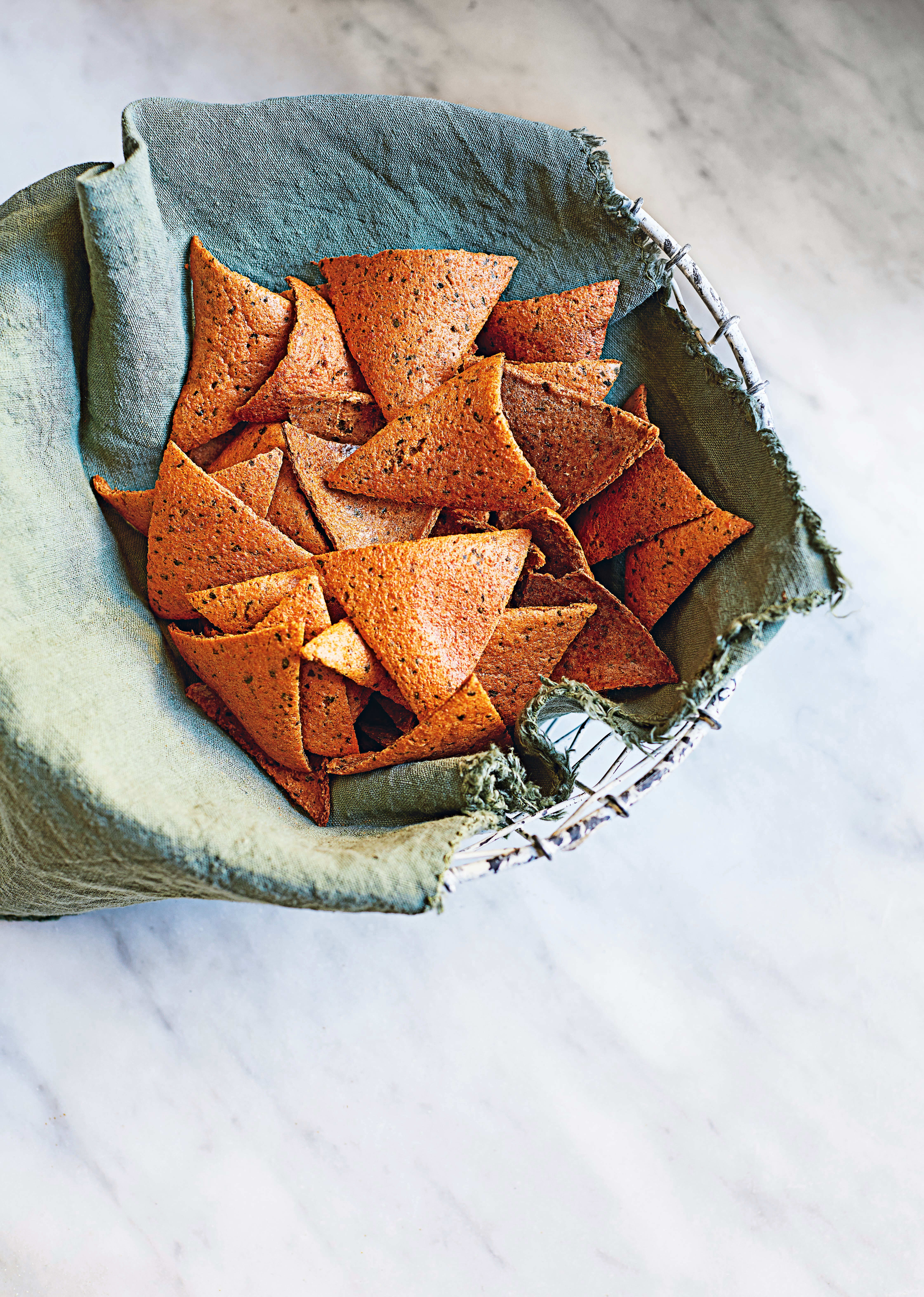 Photo of Red lentil crisps by WW
