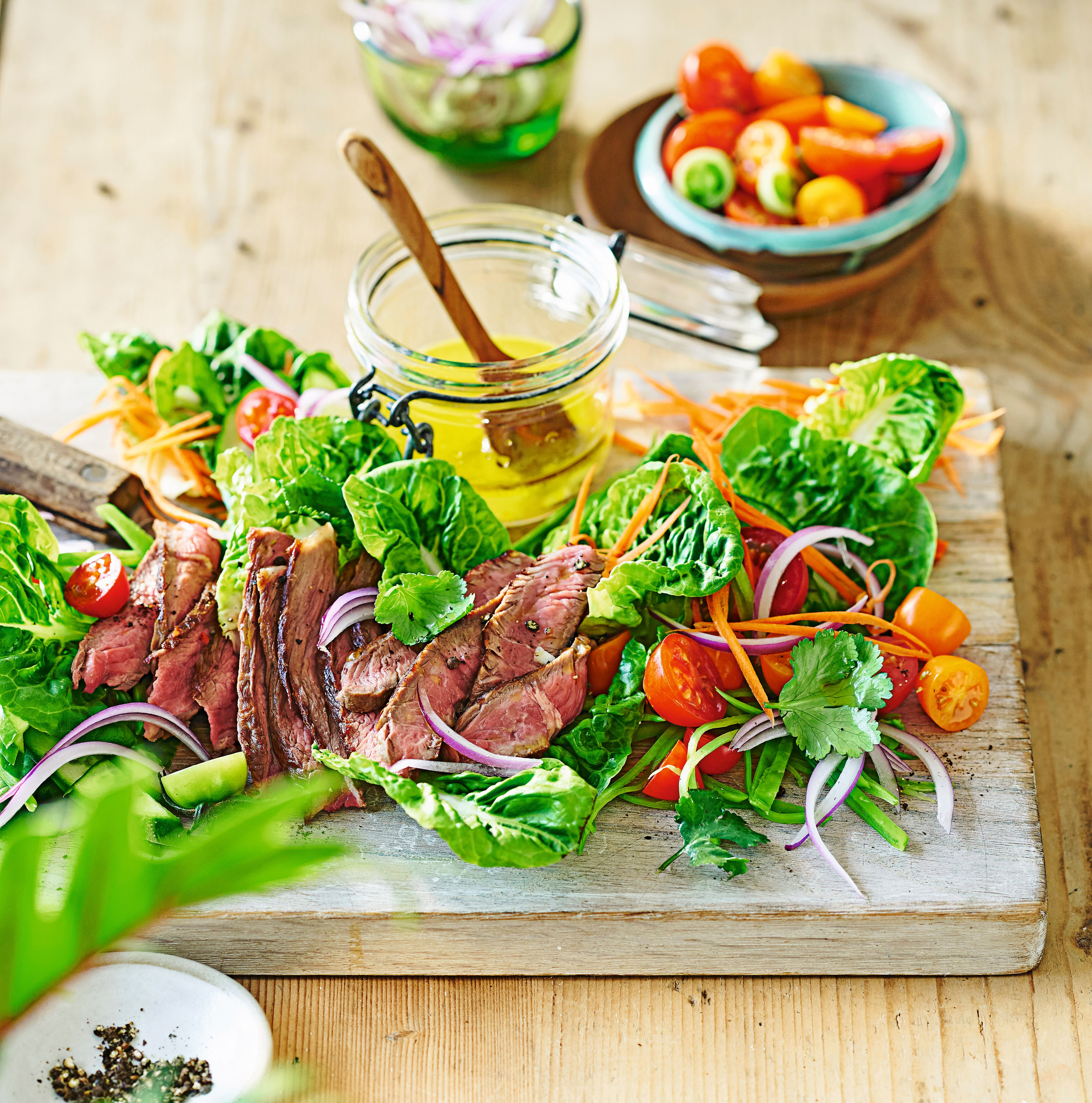 Photo of Seared beef salad by WW