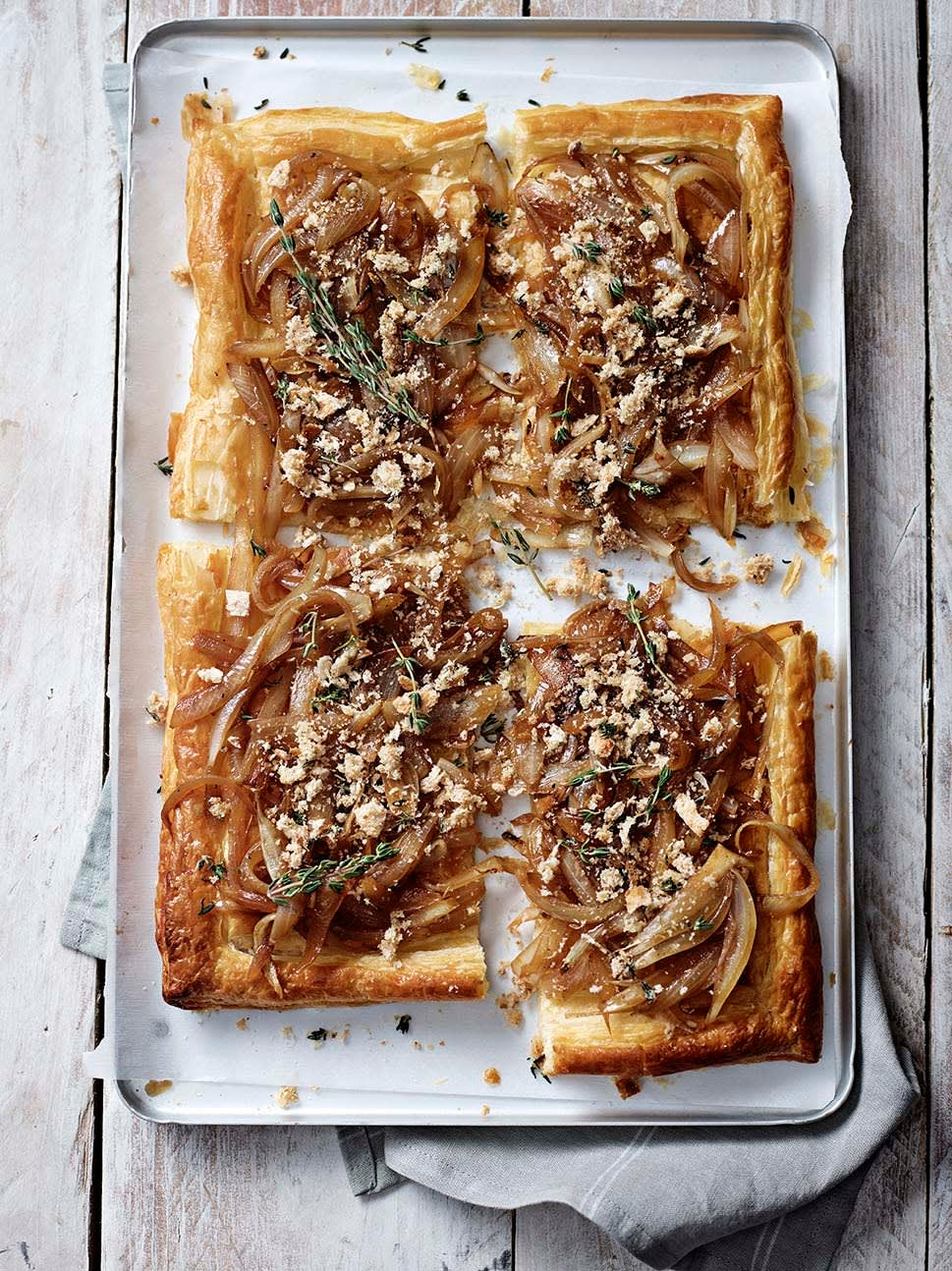 Photo of Caramelised onion & thyme tart by WW