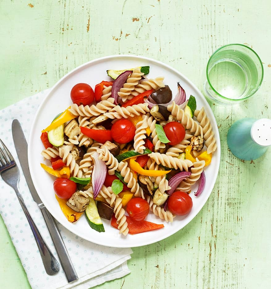 Photo of Roasted vegetable pasta salad by WW