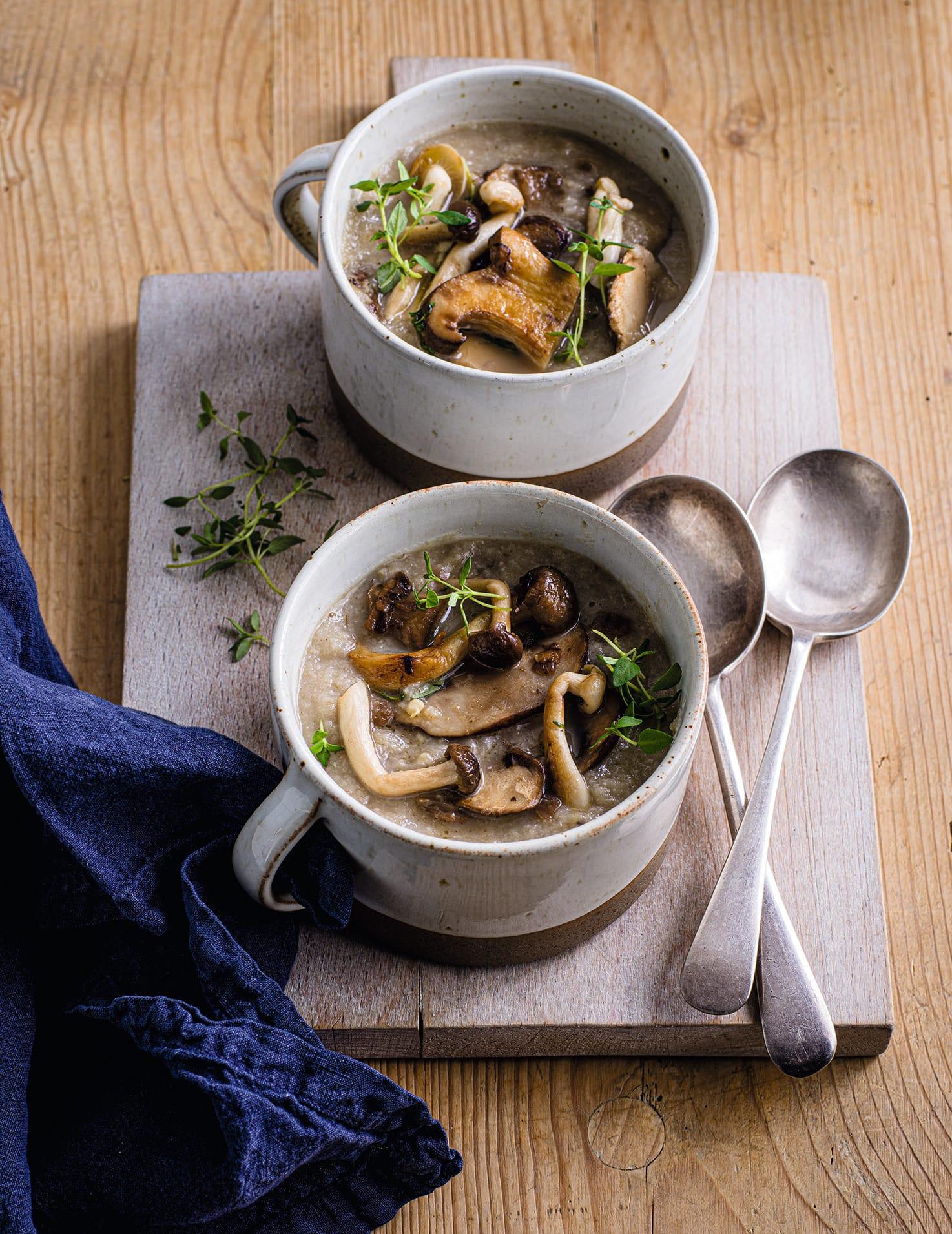 Photo of 'Creamy' mushroom soup by WW