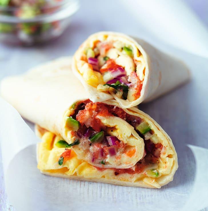 Photo of Tex-Mex omelette burritos by WW