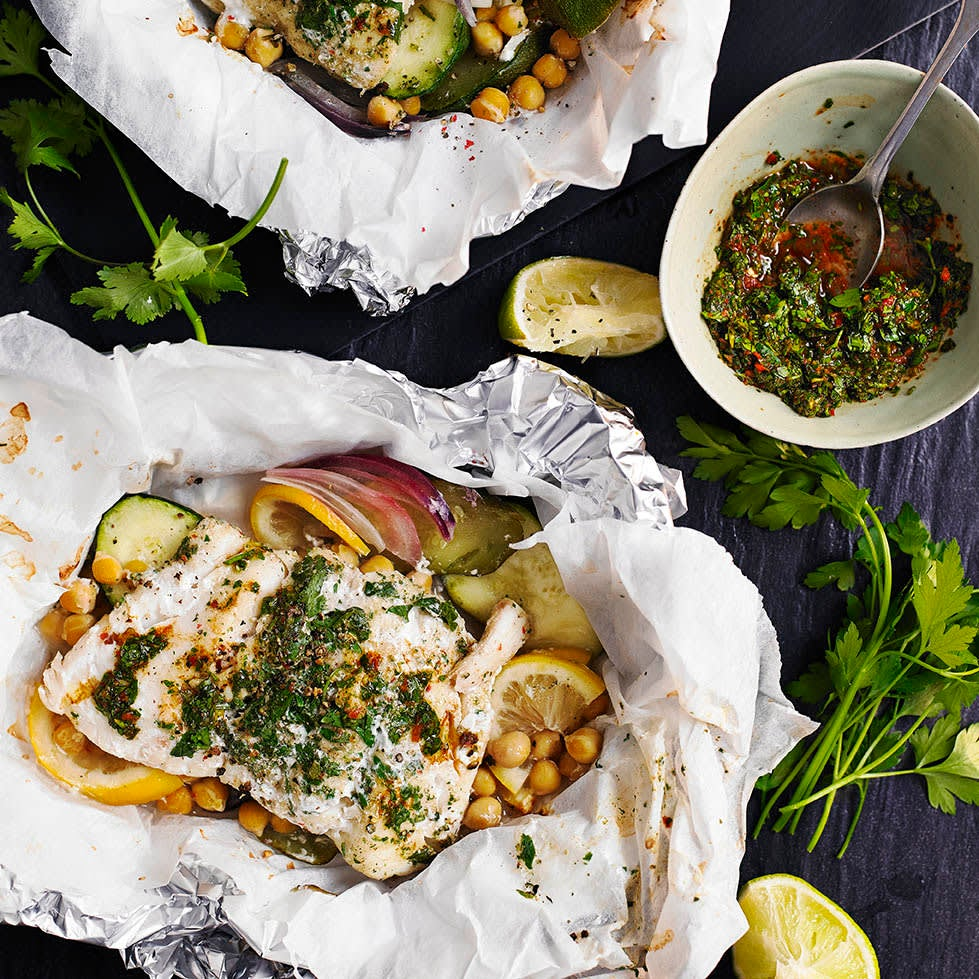 Photo of Chermoula fish parcels by WW