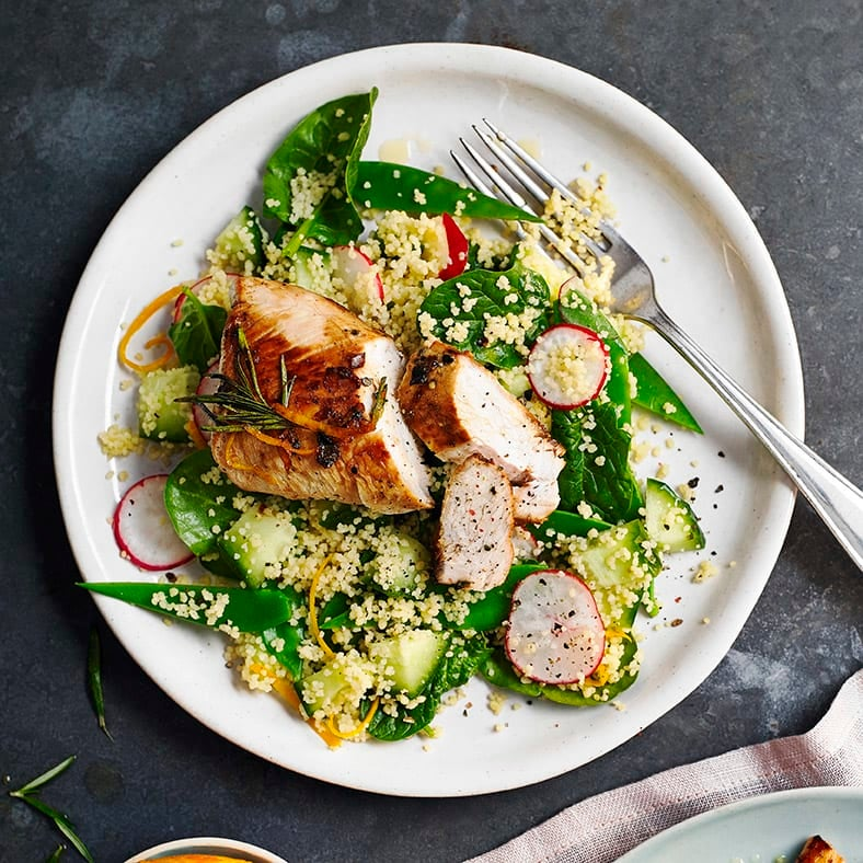 Photo of Turkey with couscous salad by WW