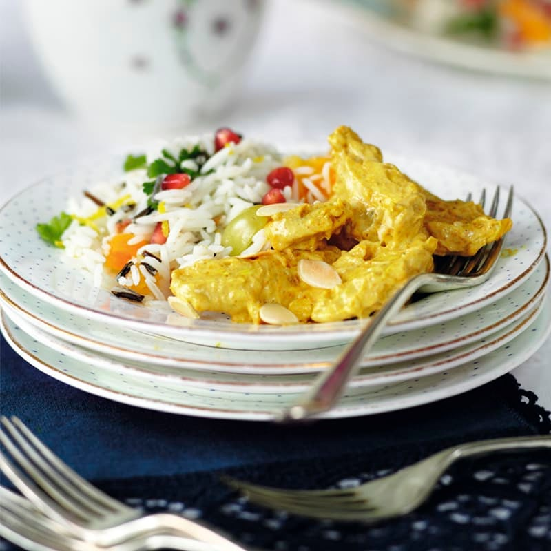 Photo of Coronation chicken with fruity rice salad by WW