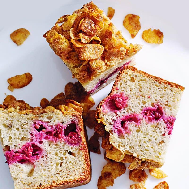 Photo of Banana & raspberry crunch bread by WW