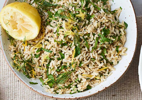 Photo of Herby brown rice by WW