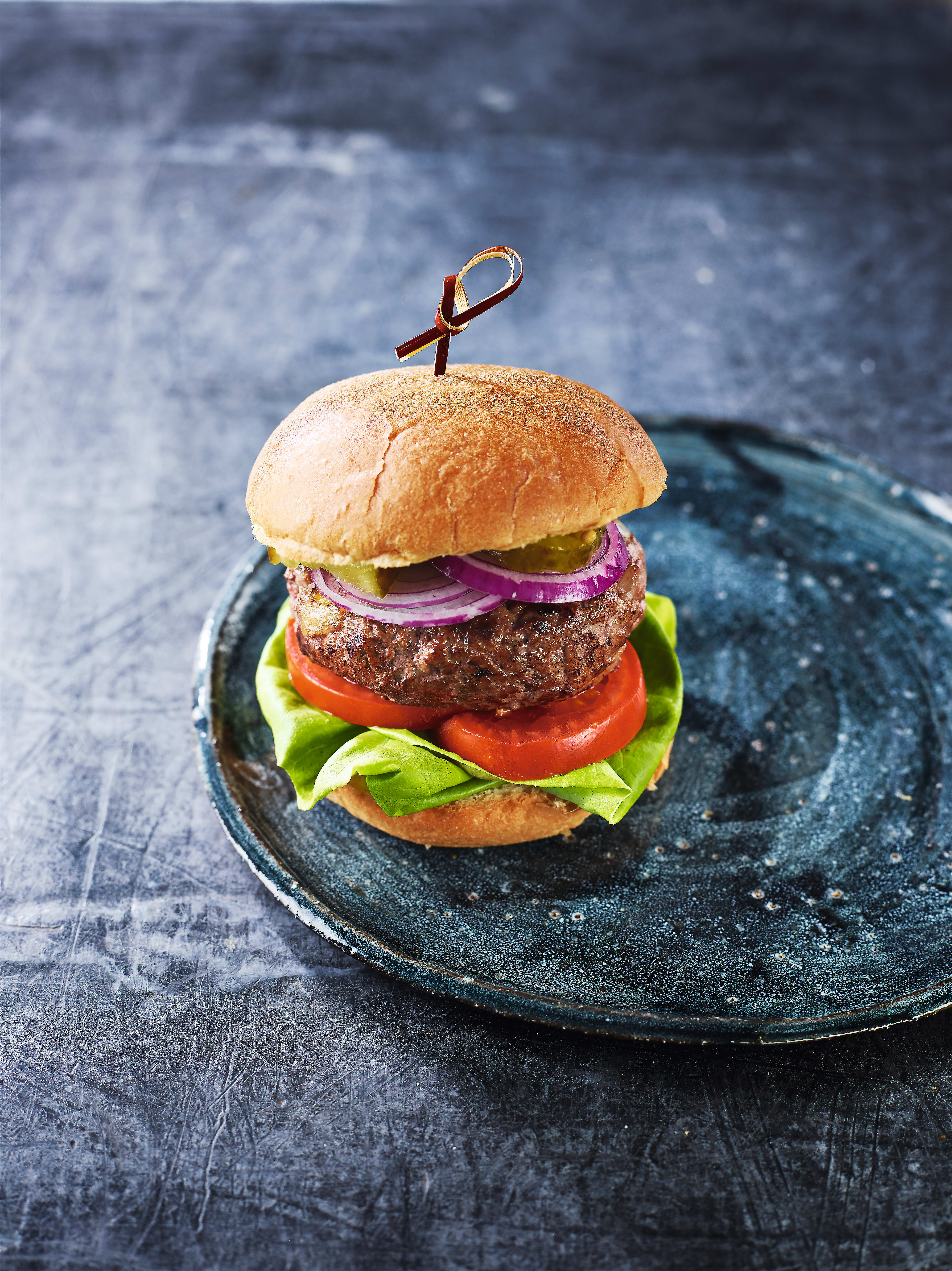 Photo of Classic beef burger with chilli chips by WW