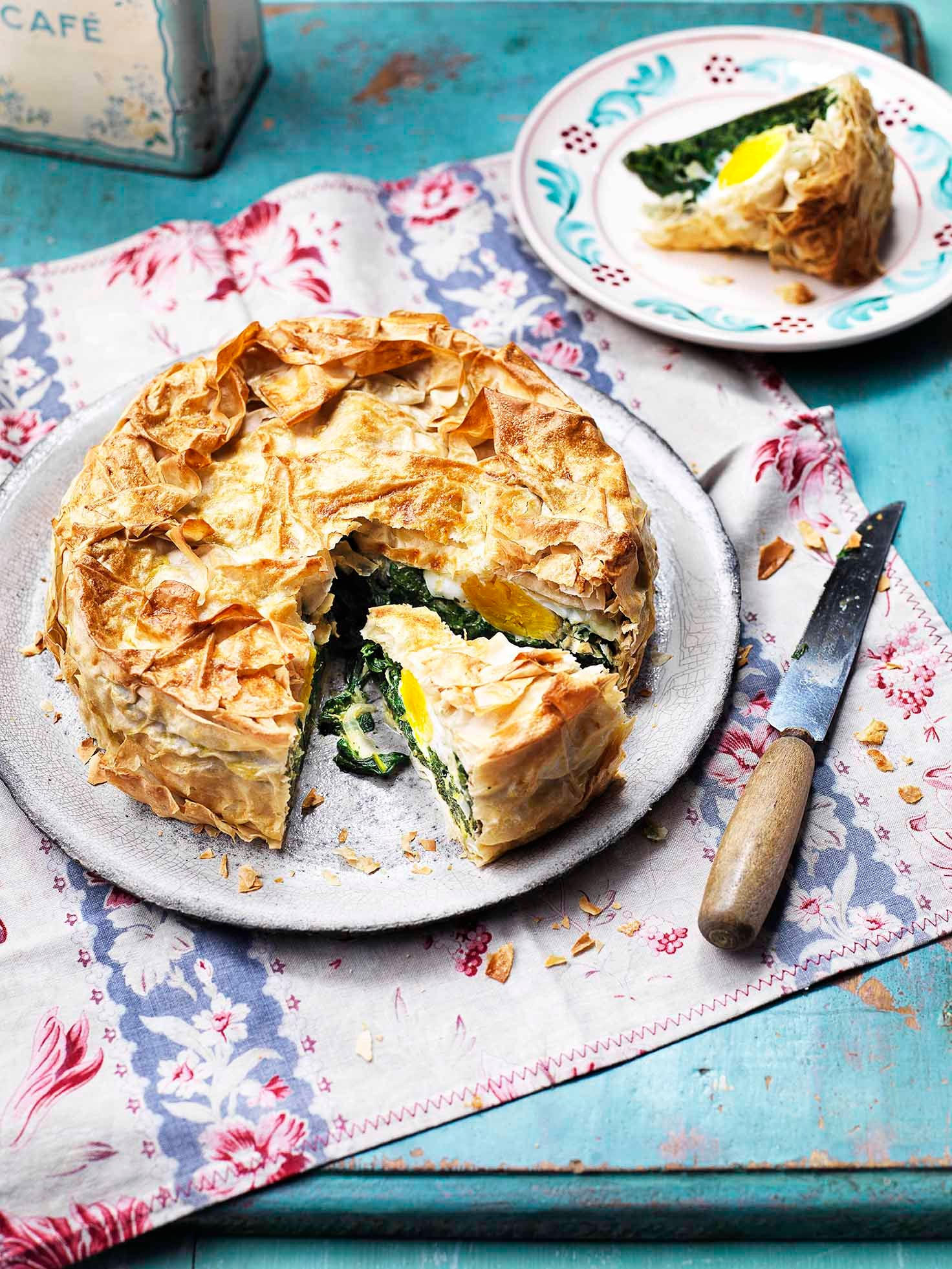 Photo of Spinach & egg pie by WW