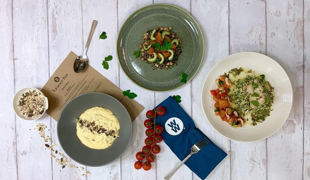 Photo of Mango, chia seed yogurt & muesli - Balance Box by WW