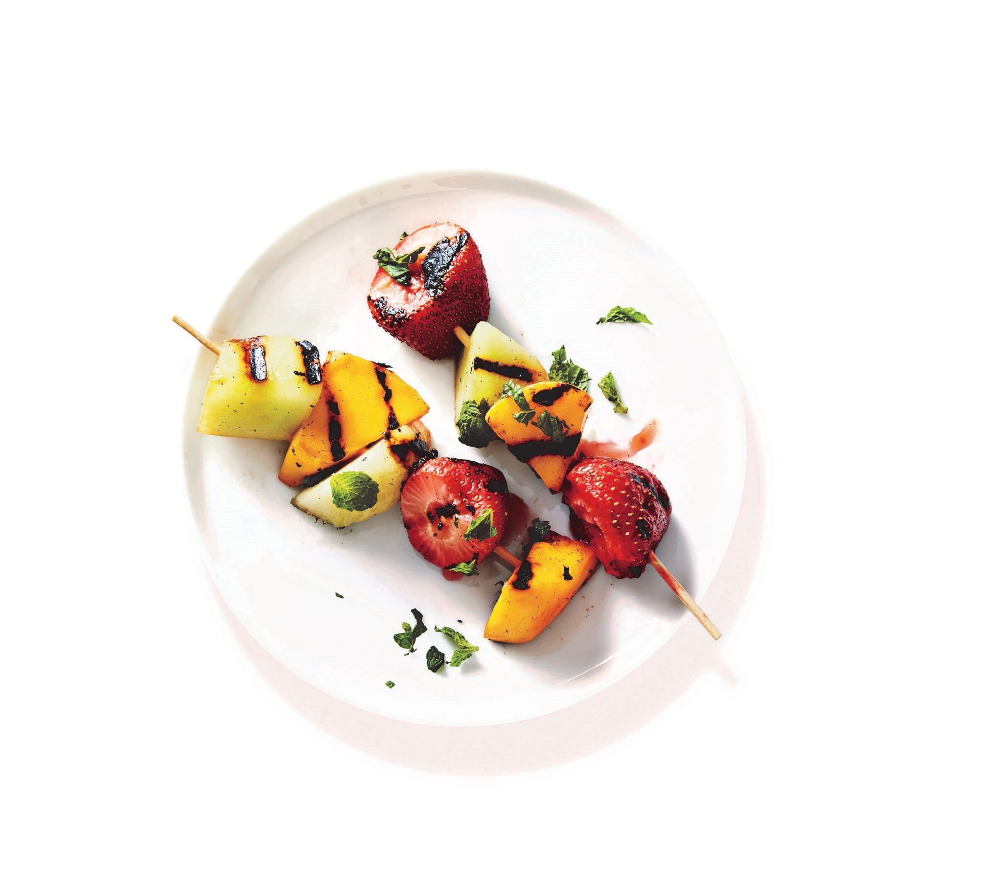 Photo of Barbecued fruit skewers by WW