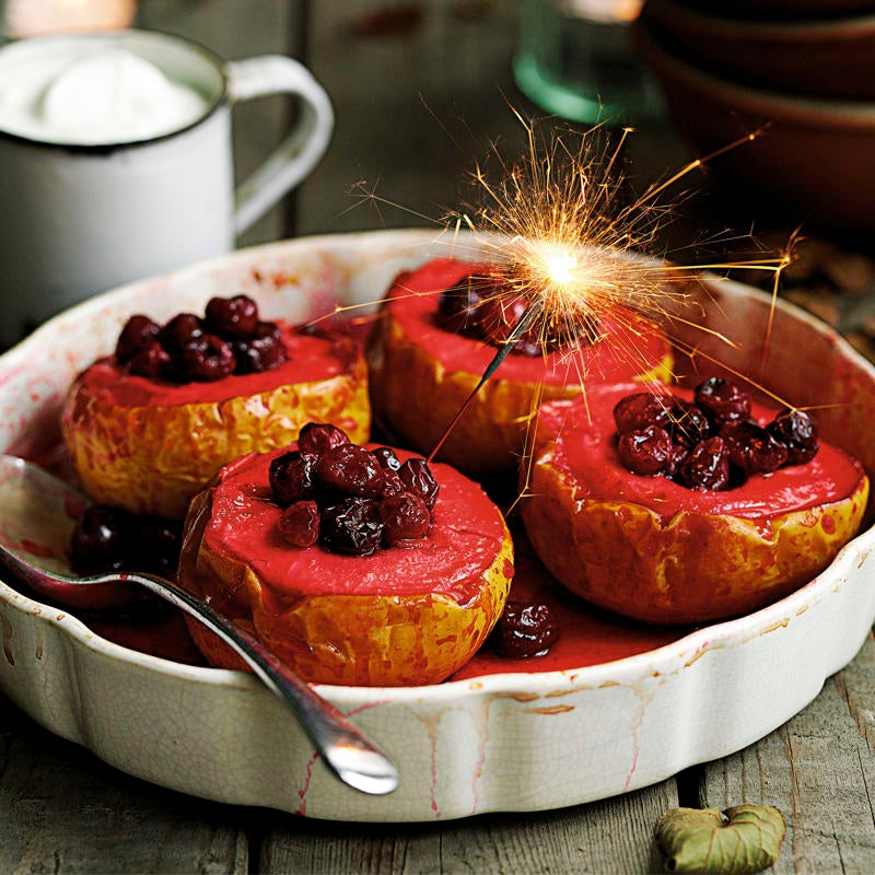 Photo of Baked apples with cranberry & ginger by WW