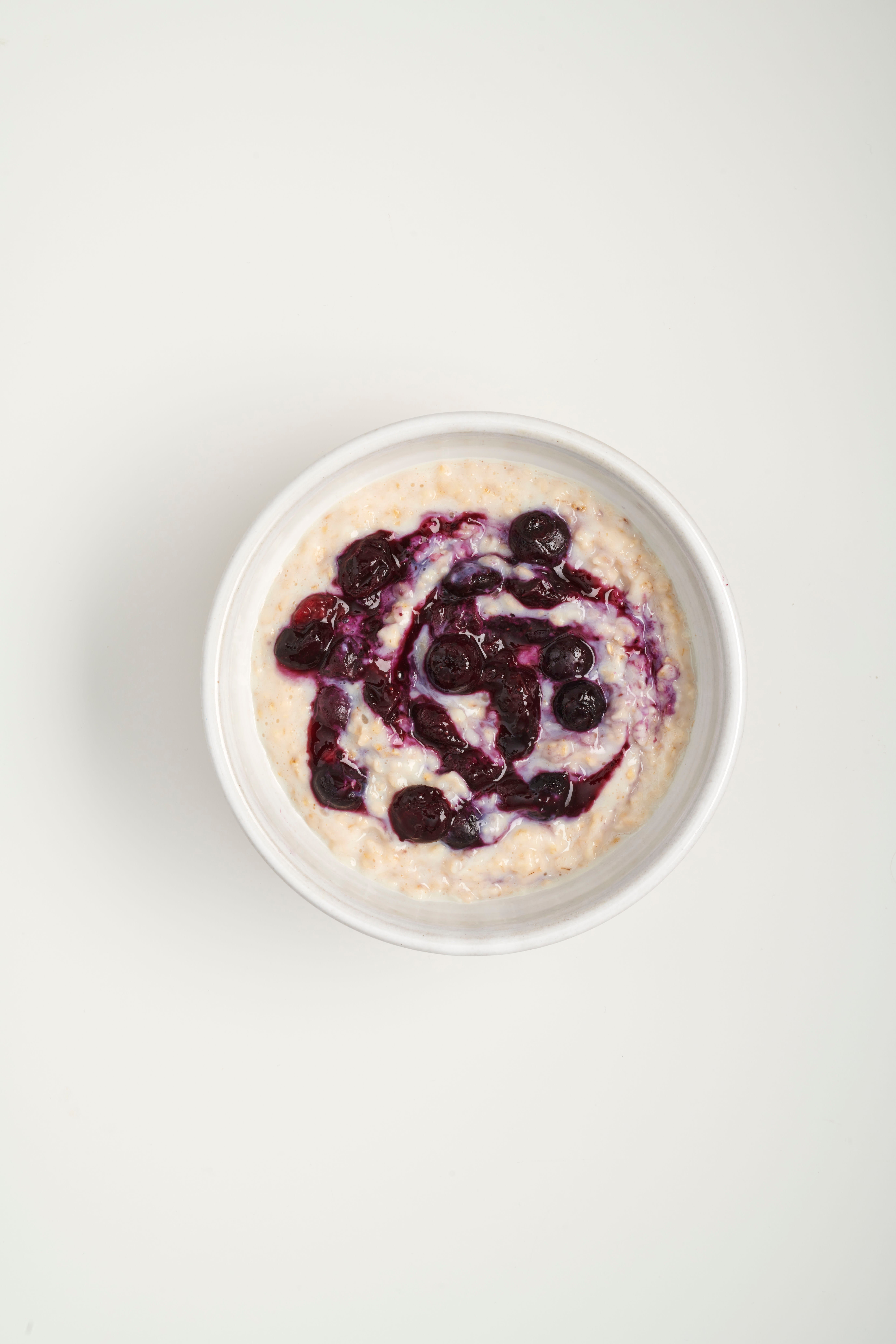 Photo of Porridge with blueberries by WW