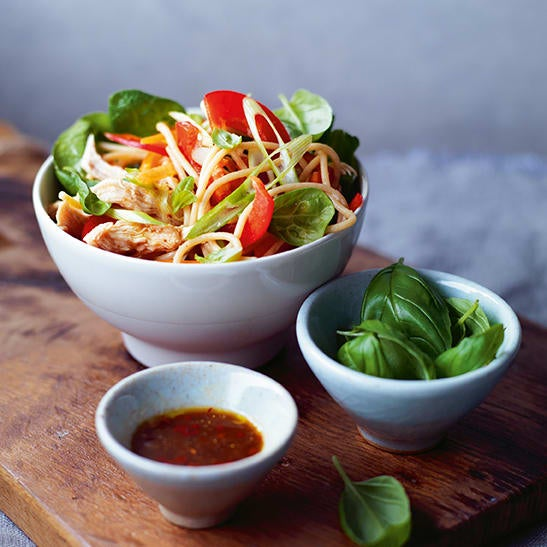 Photo of Japanese chicken noodle salad by WW