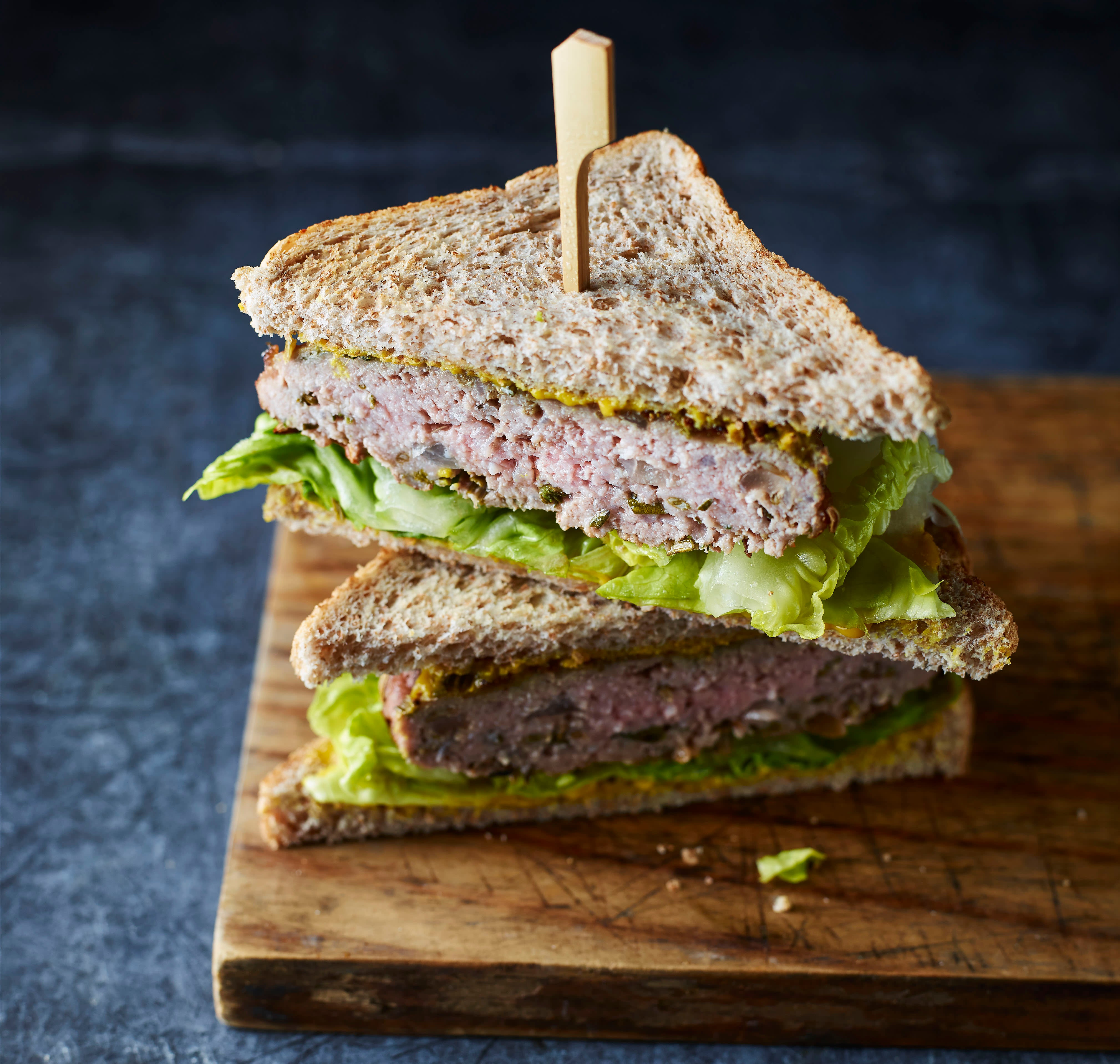 Photo of Rosemary & thyme sandwich burger by WW