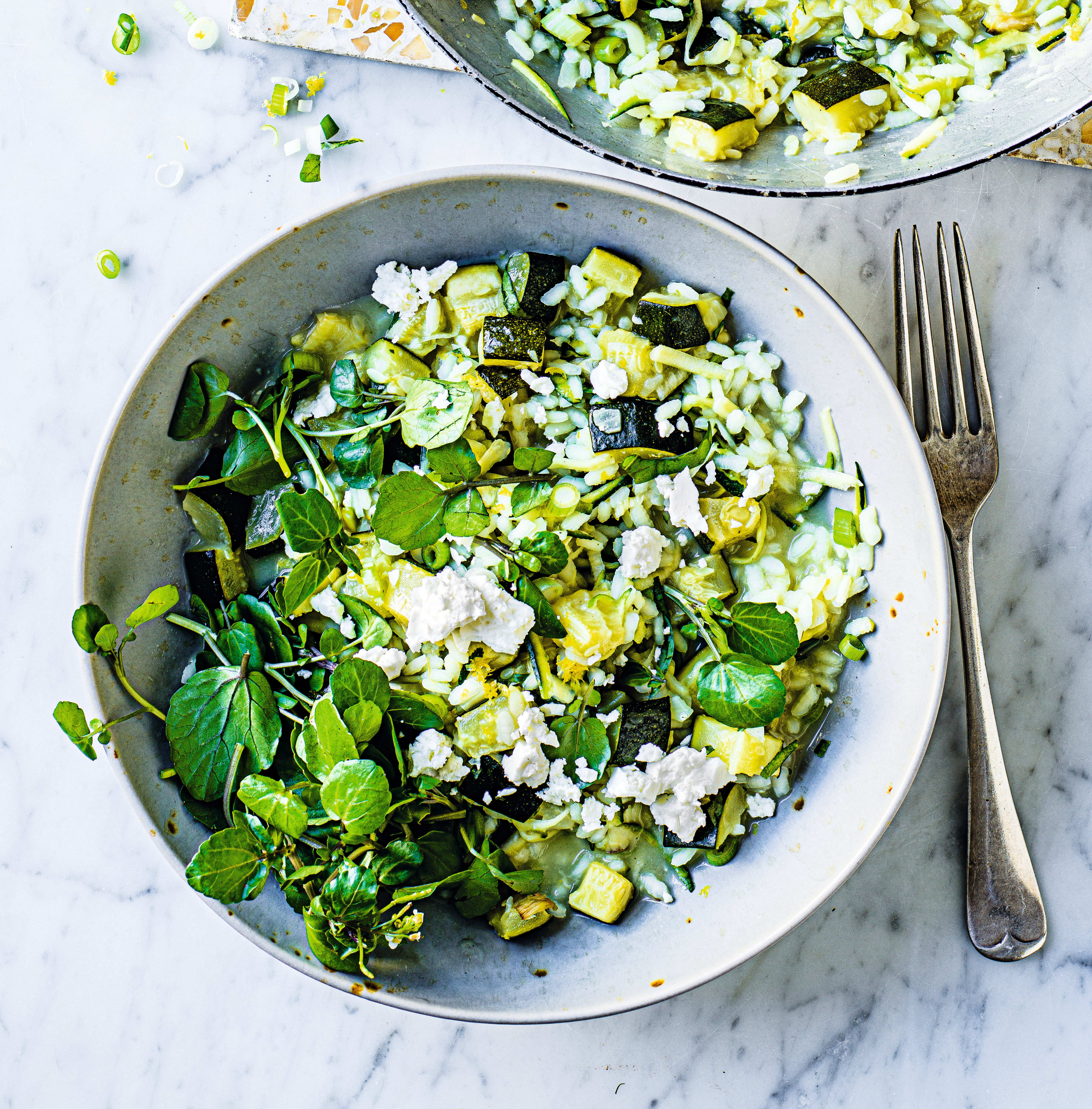 Photo of Courgette, lemon & feta risotto by WW