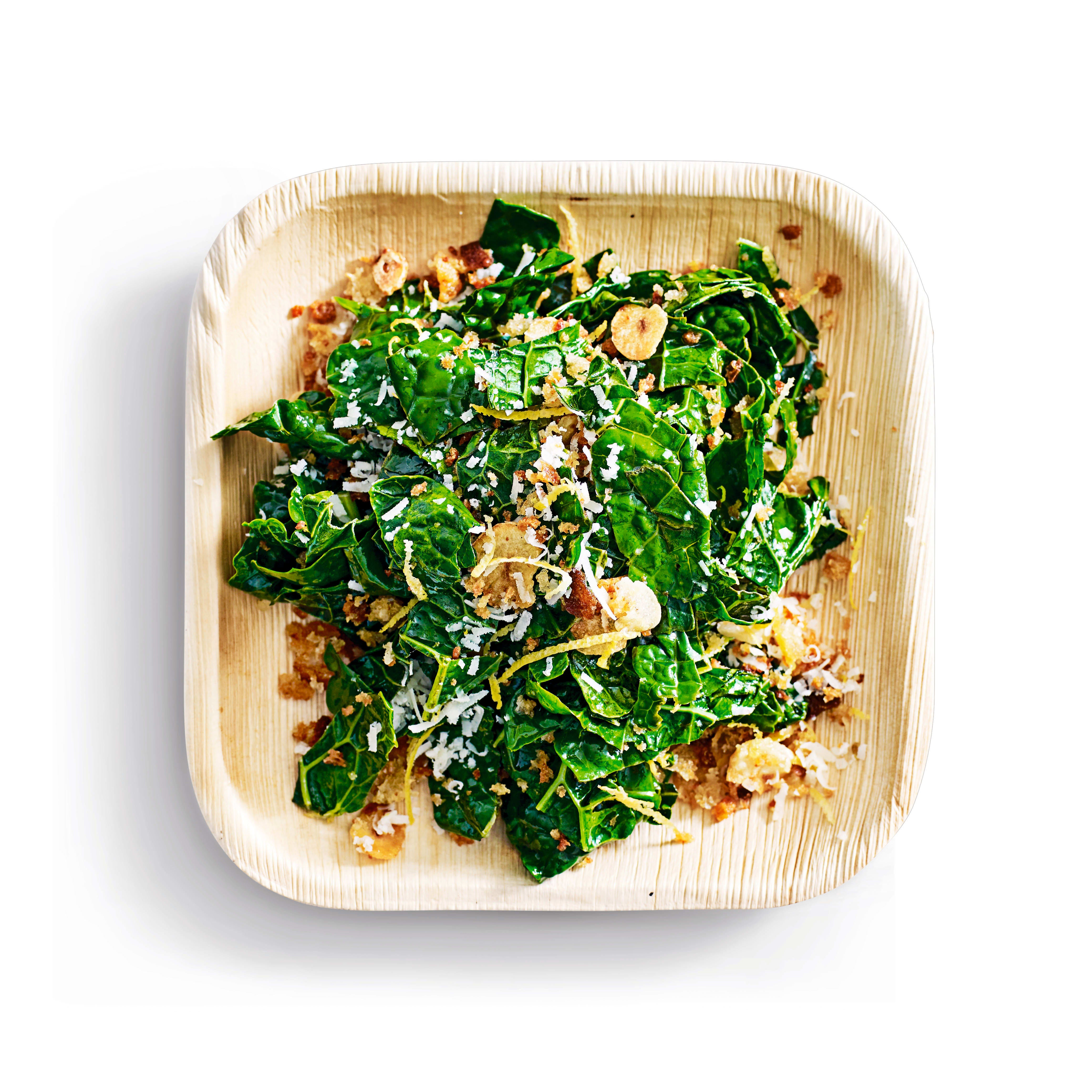 Photo of Wilted kale with garlic crumbs by WW