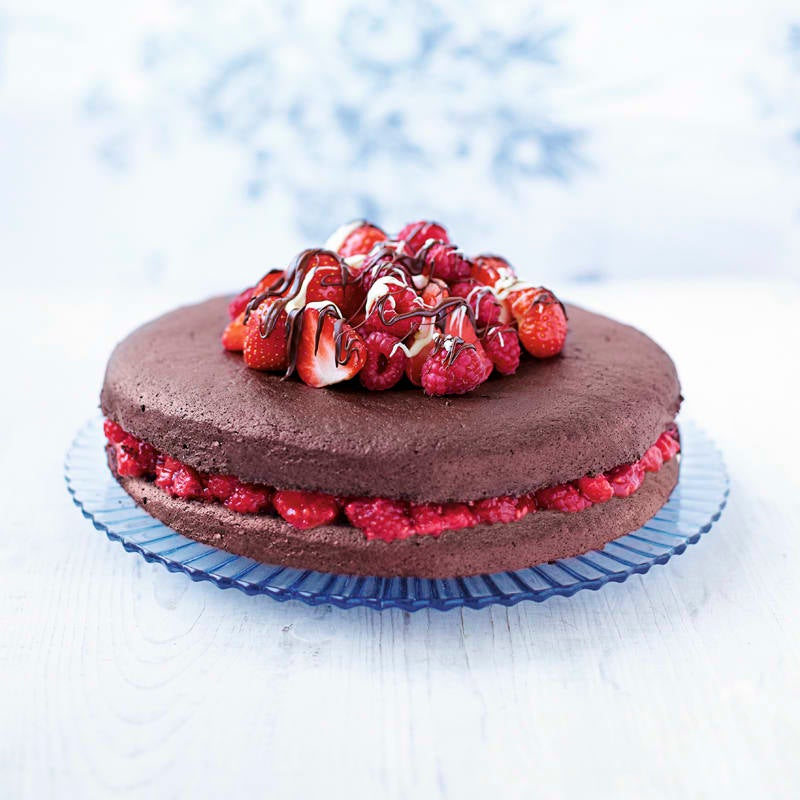 Photo of Chocolate berry cake by WW