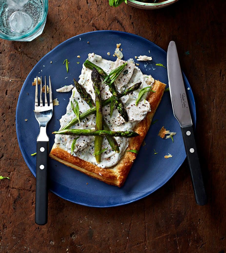Photo of Chicken & asparagus tart by WW