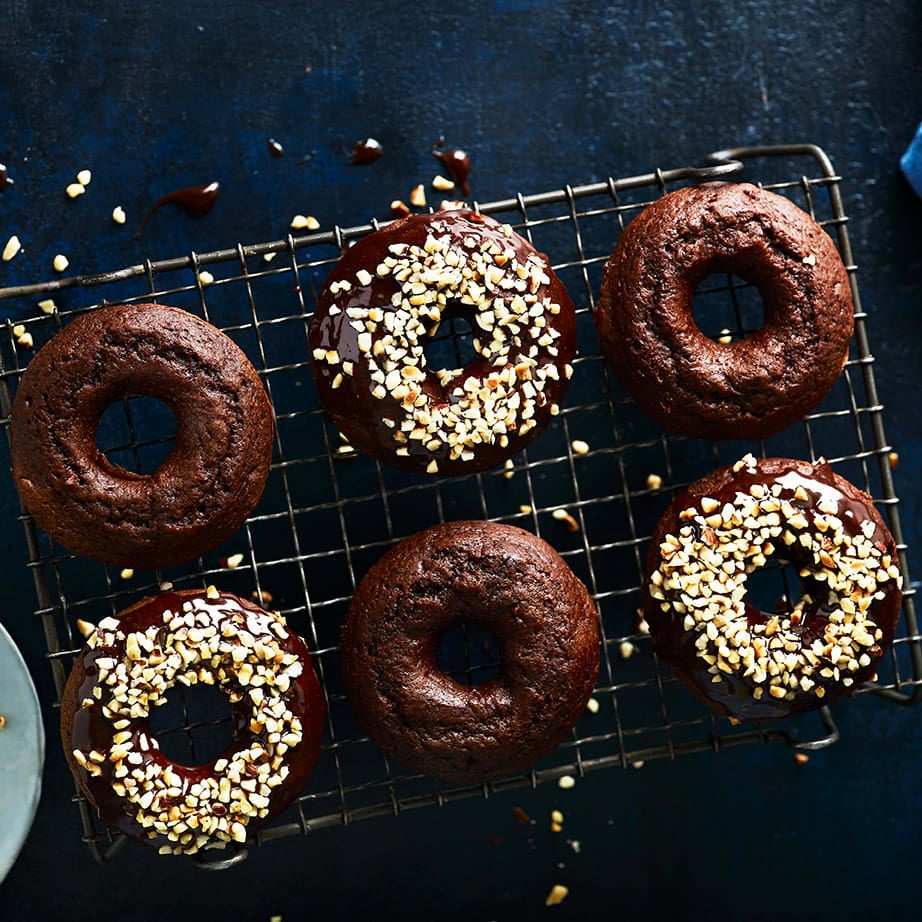 Photo of Chocolate & hazelnut doughnuts by WW