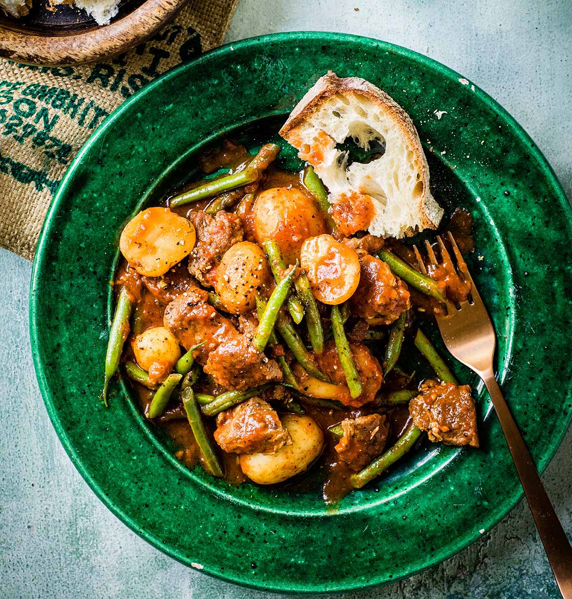 Photo of Lamb & green bean stew by WW