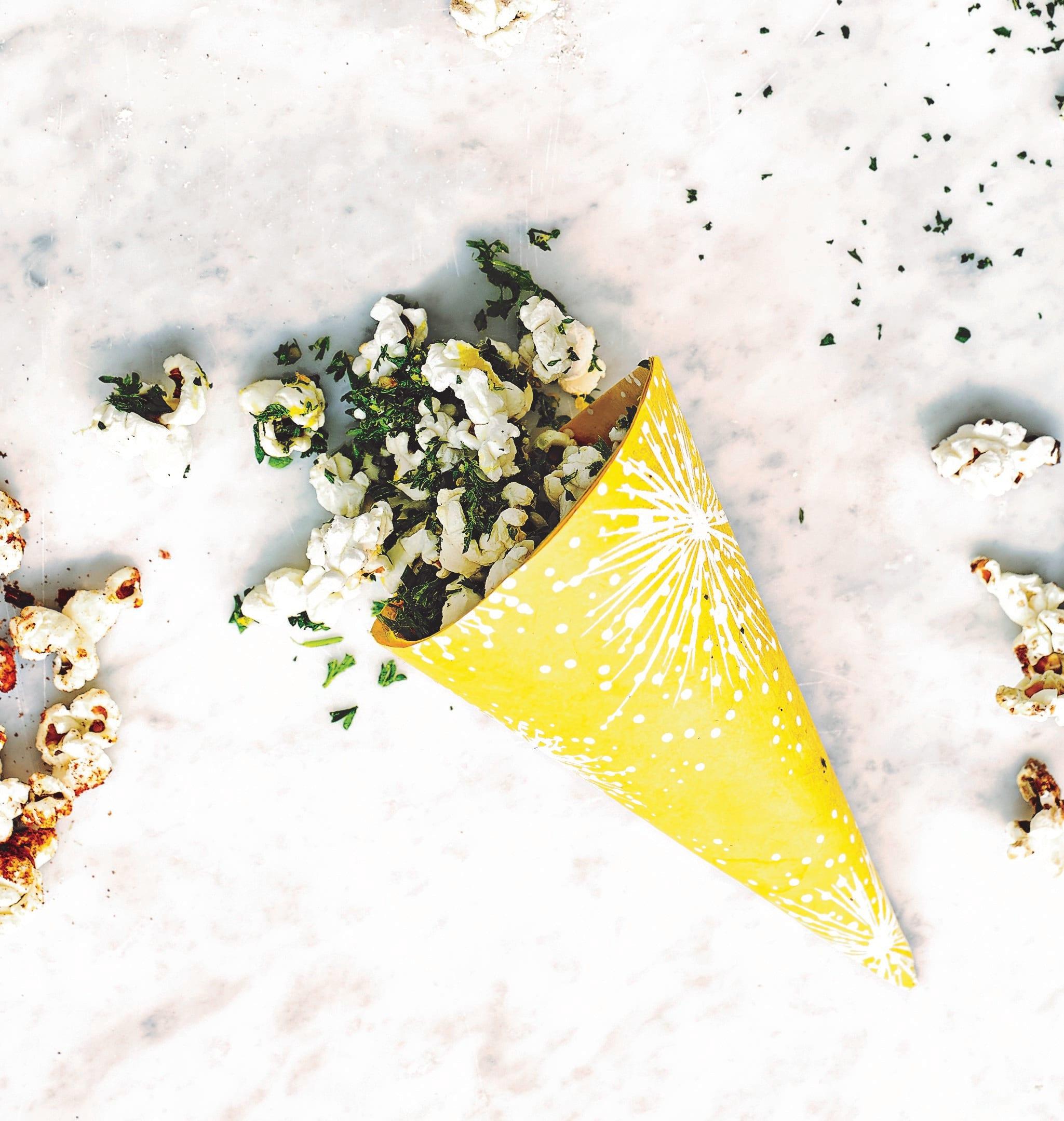 Photo of Kale & lemon popcorn by WW