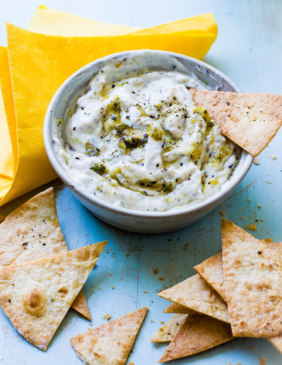 Photo of Griddled spring onion dip by WW
