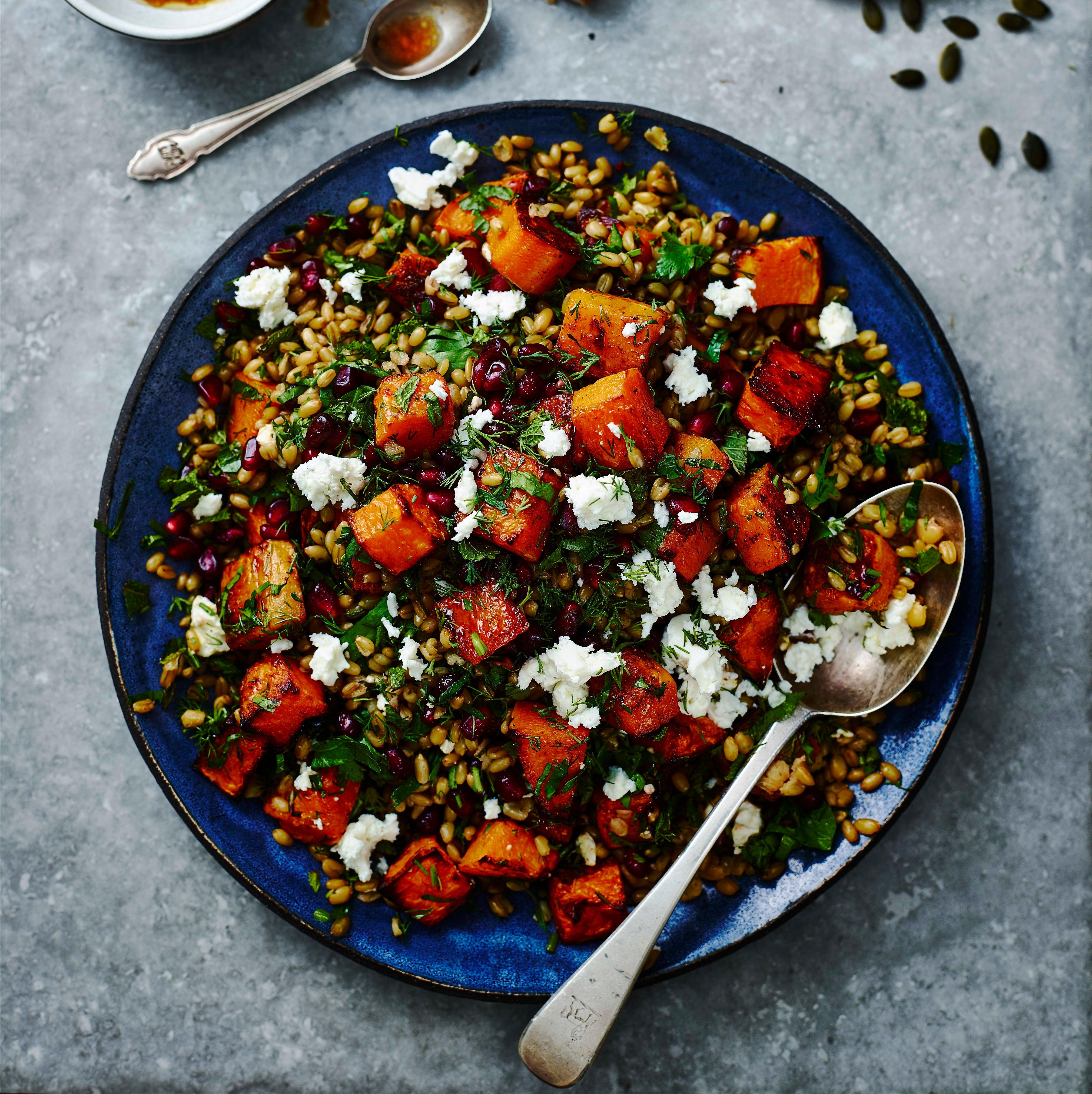 Photo of Roasted squash & freekeh salad by WW
