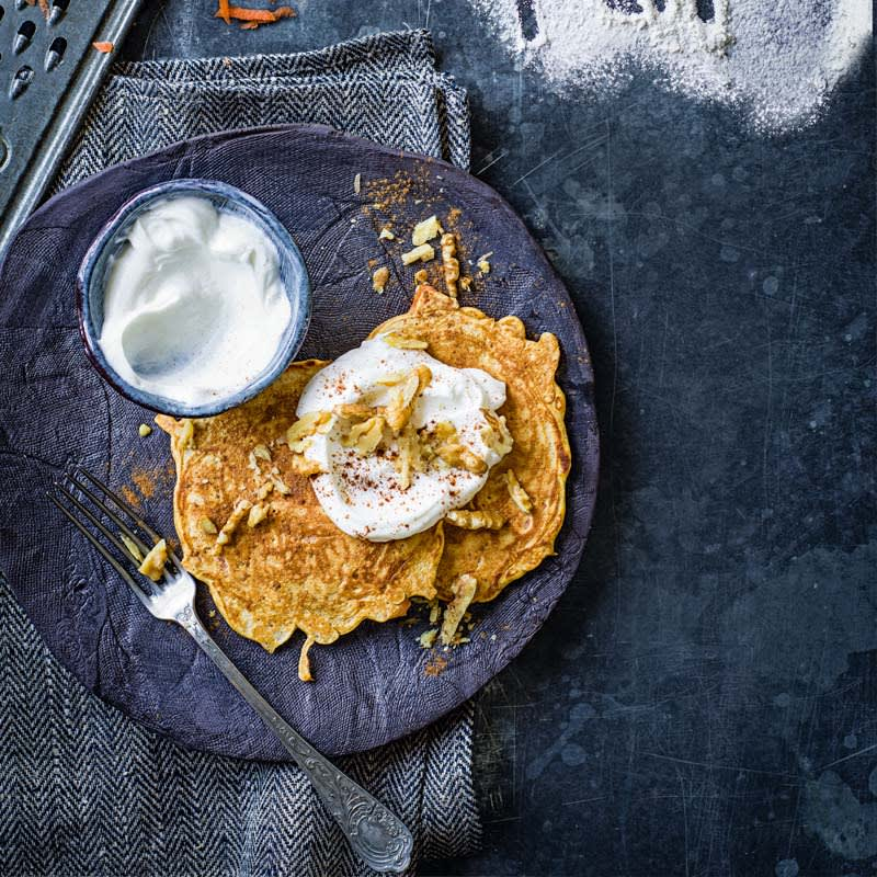 Photo of Carrot cake pancakes by WW